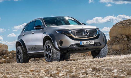 Mercedes-Benz EQC 4×4² concept shows hardcore off-road potential
