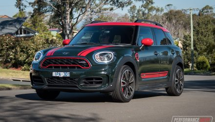 2020 MINI Countryman JCW review (video)