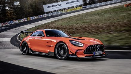 Mercedes-AMG GT Black Series sets Nurburgring lap record (video)