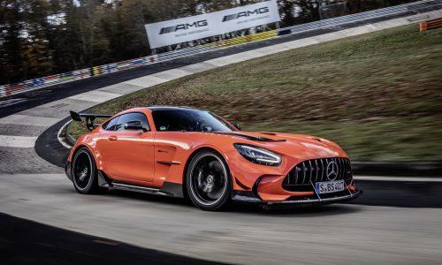 Mercedes-AMG GT Black Series sets Nurburgring lap record (video)