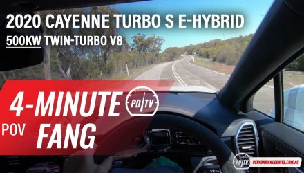 Video: 2020 Porsche Cayenne Turbo S E-Hybrid – Four-minute Fang