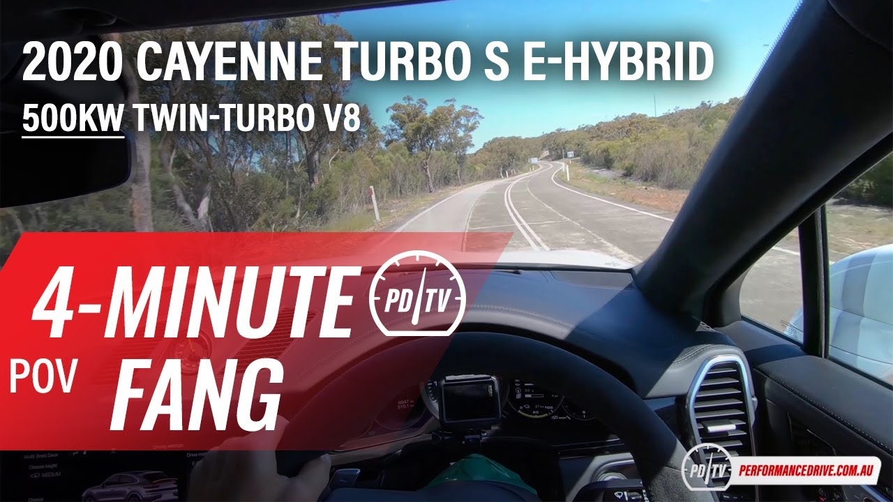 Video: 2020 Porsche Cayenne Turbo S E-Hybrid – Four-minute Fang