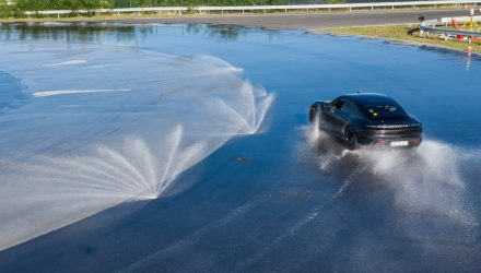 Porsche Taycan drifts its way to a new world record (video)