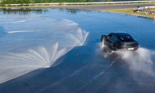 Porsche Taycan drifts its way to a new world record (video)