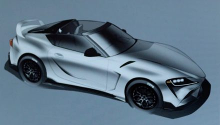 Toyota GR Supra Sport Top concept prepared for SEMA
