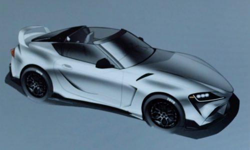 Toyota GR Supra Sport Top concept prepared for SEMA