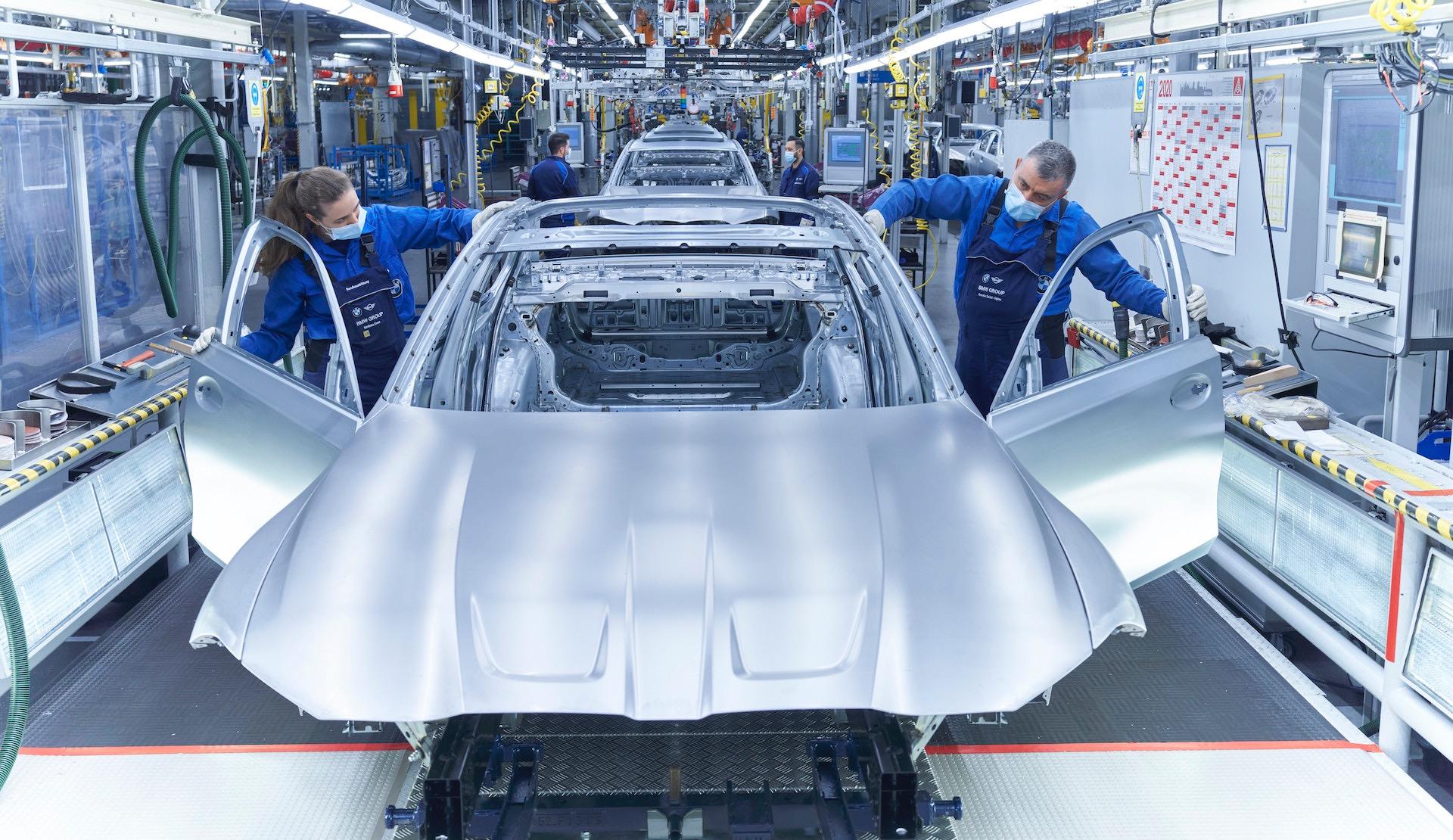 2021 BMW M3 production commences at Munich plant ...