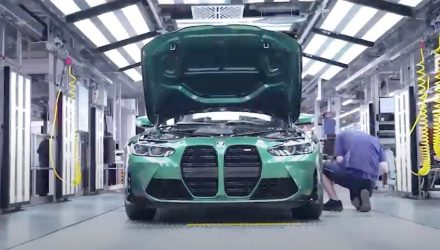 2021 BMW M3 production commences at Munich plant