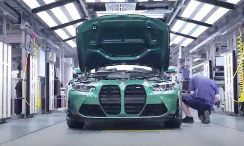 2021 BMW M3 production commences at Munich plant