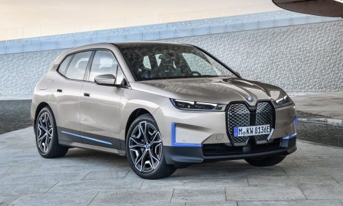 Electric BMW iX revealed, production confirmed for 2021