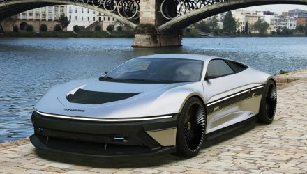 2021 DeLorean DMC-12 envisioned, pure perfection