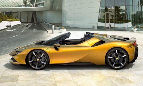 Ferrari SF90 Spider debuts with 736kW V8 hybrid