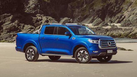 2021 GWM Cannon ute on sale in Australia from $33,990