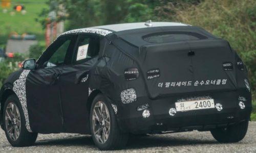 Genesis 'GV60' EV prototype spotted, to use Rimac tech