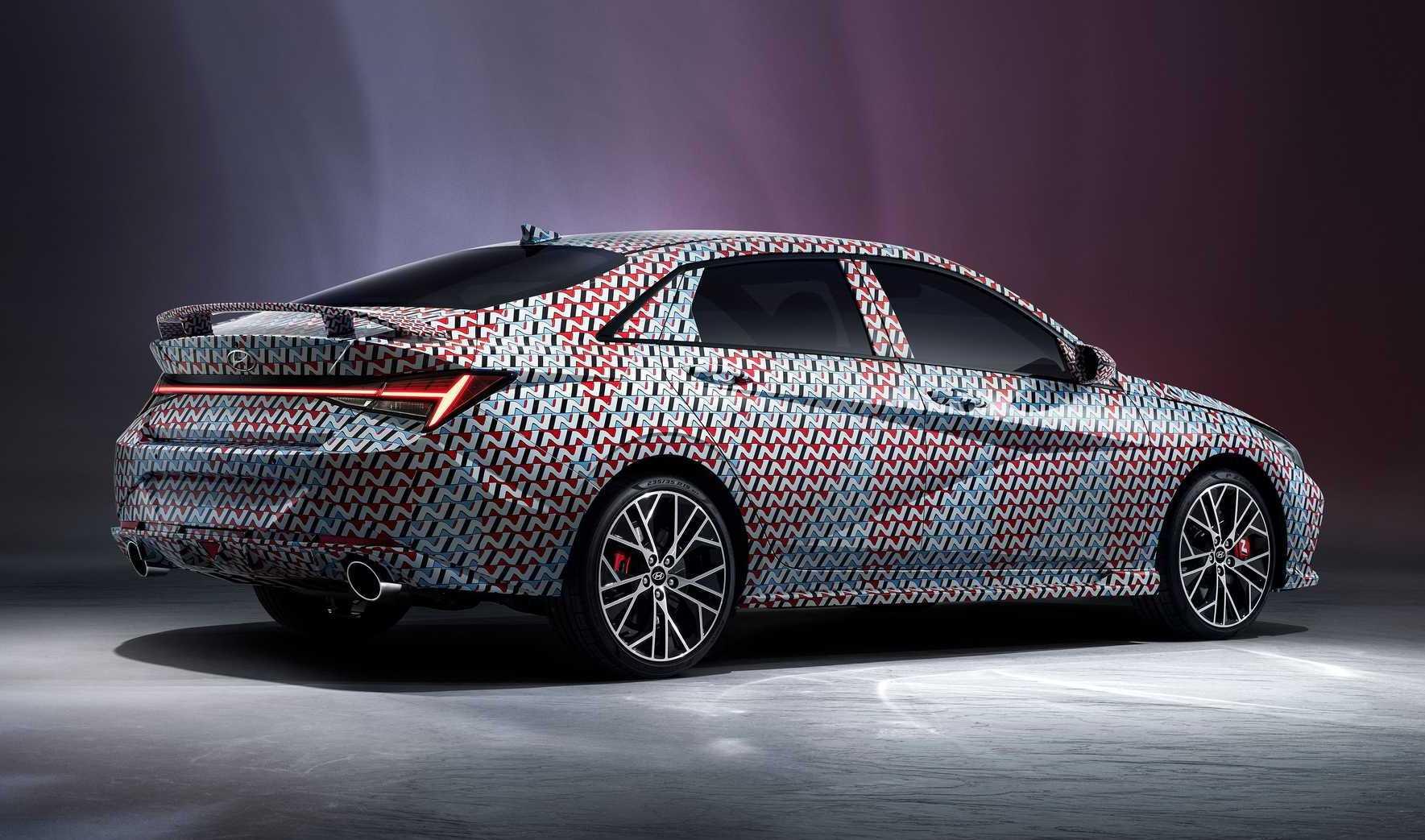 2021 Hyundai i30 Sedan N previewed