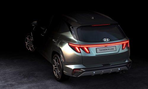 2021 Hyundai Tucson N Line shown, confirmed for Australia