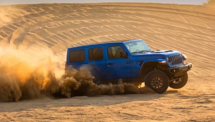 Jeep Wrangler Rubicon 392 V8 goes official