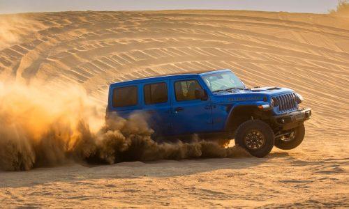 Jeep Wrangler Rubicon 392 V8 goes official