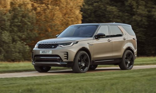2021 Land Rover Discovery update gets inline-6 engines