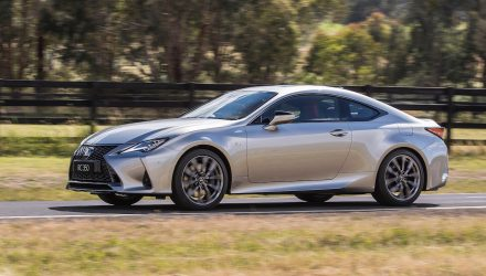 2021 Lexus RC update announced for Australia
