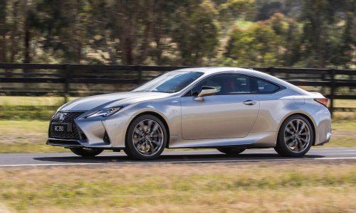 2021 Lexus RC update announced for Australia