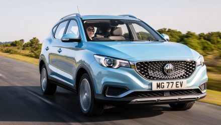 2021 MG ZS EV launches in Australia, priced from $40,990