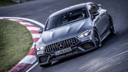 2021 Mercedes-AMG GT 63 S resets Nurburgring lap record (video)