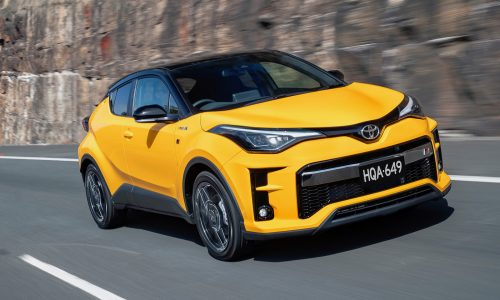 2021 Toyota C-HR GR Sport on sale from $37,665
