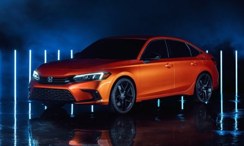2022 Honda Civic prototype debuts, previews 11th gen design