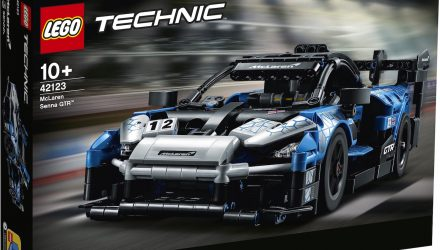 Lego Technic announces McLaren Senna GTR built set