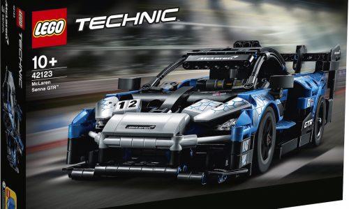 Lego Technic announces McLaren Senna GTR built set