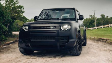 Vossen shows new Land Rover Defender tuning potential