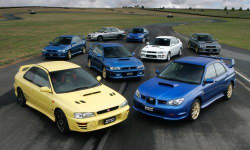 Subaru WRX STI sales hit 10,000 milestone in Australia