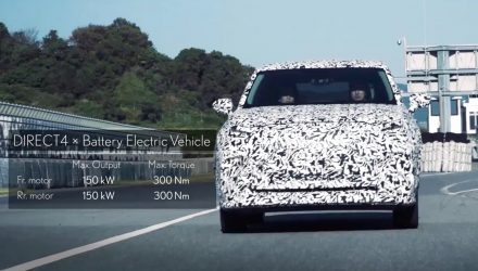 Lexus previews DIRECT4 EV tech with 300kW prototype (video)