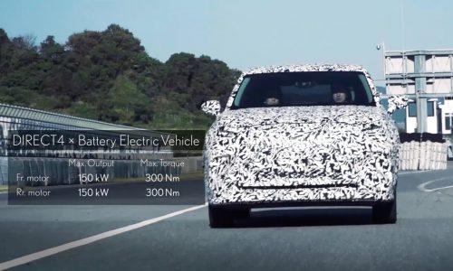 Lexus previews DIRECT4 EV tech with 300kW prototype (video)