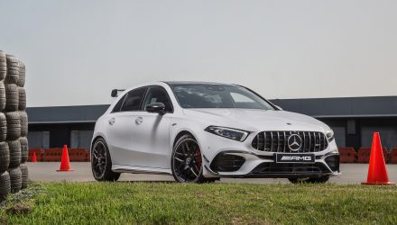 Mercedes-AMG A 45 S now available with Pirelli Trofeo R tyres