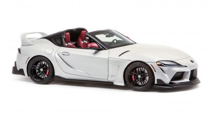 Toyota GR Supra Sport Top concept revealed for SEMA