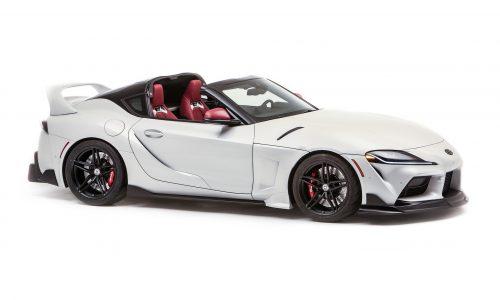 Toyota GR Supra Sport Top concept revealed for SEMA