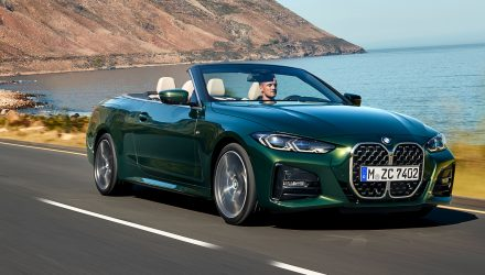 2021 BMW 4 Series Convertible prices announced for Australia
