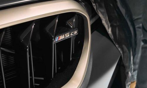 2021 BMW M5 CS previewed; 467kW confirmed, 70kg cut