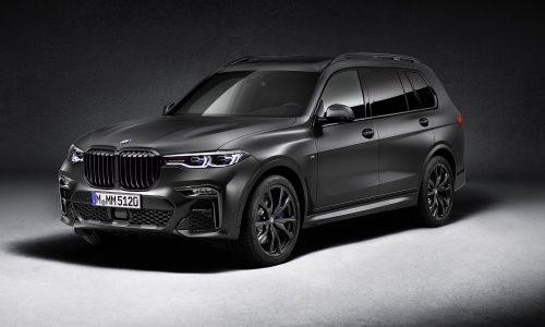 BMW X7 Dark Shadow Edition confirmed for Australia