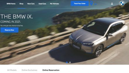 Online reservations for BMW iX now open in Australia
