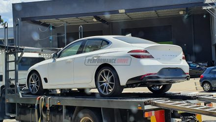 2021 Genesis G70 spotted in Australia, to undergo local testing