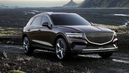 2021 Genesis GV70 specs announced, new 3.5T V6 confirmed