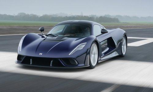 Production-spec Hennessey Venom F5 revealed; 1355kW, 500km/h