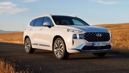 2021 Hyundai Santa Fe now on sale in Australia, hybrid confirmed