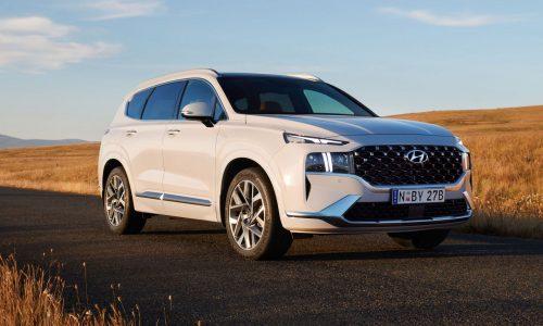 2021 Hyundai Santa Fe now on sale in Australia, hybrid confirmed