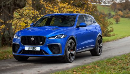 2021 Jaguar F-PACE SVR update announced, arrives in April