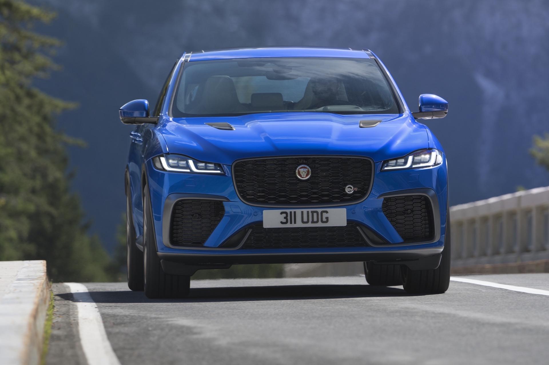2021 jaguar f-pace svr update announced, arrives in april
