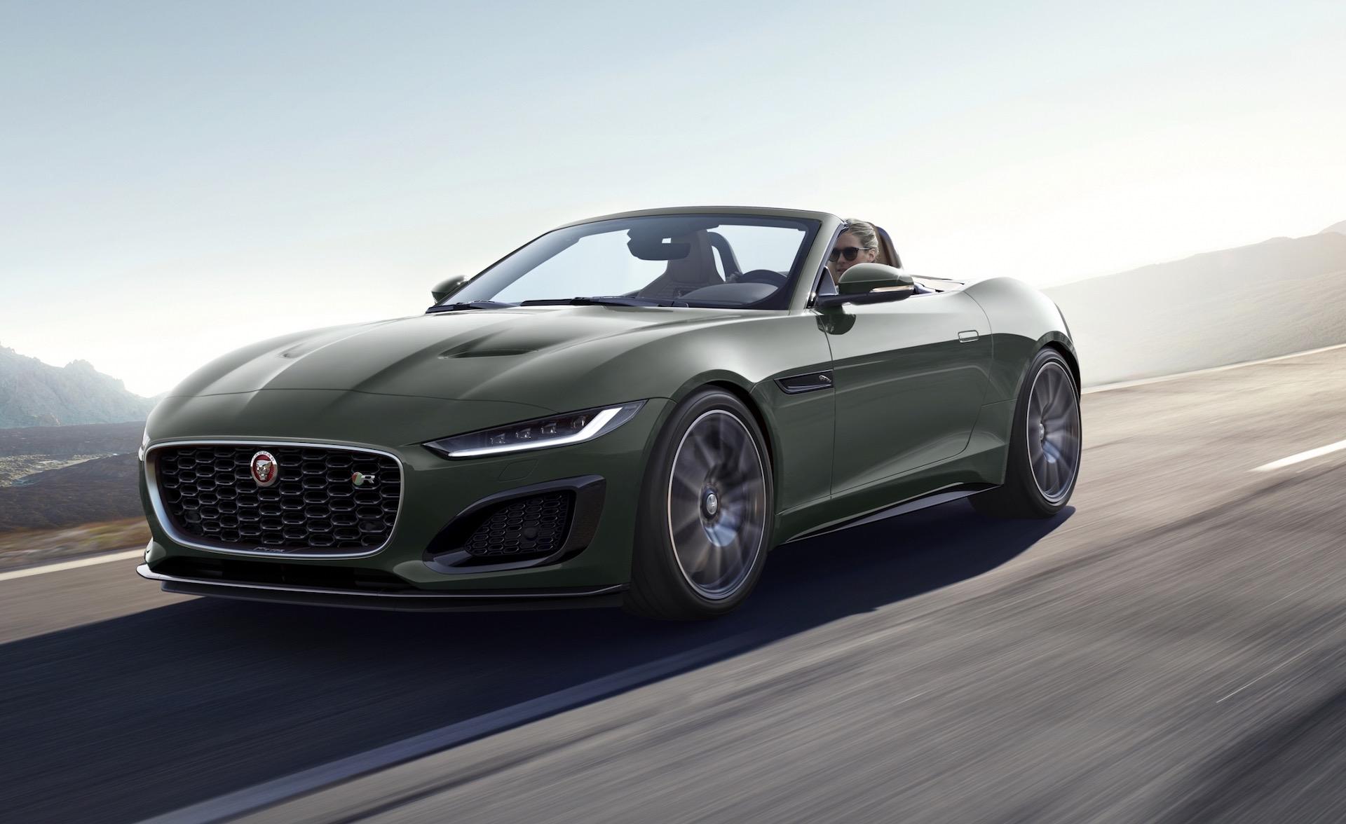 Jaguar F-Type Heritage 60 Edition celebrates E-type ...